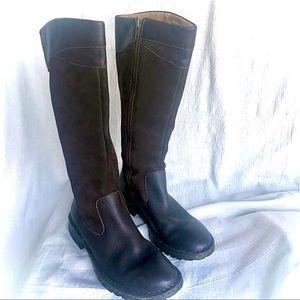 Born Boots: Vintage, Dark Brown
